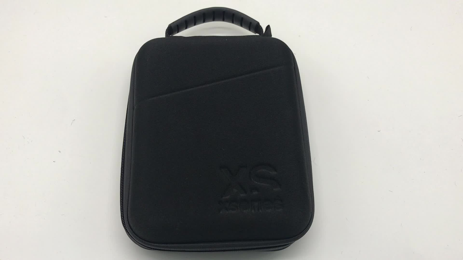 GC -  Black color Hard shell mould EVA CASE with handle