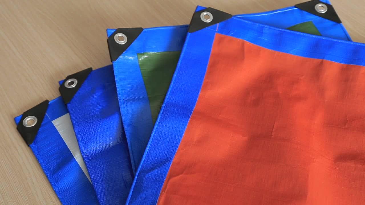 heavy duty tarps with UV treated   PE  tarpaulin for truck cover / car / tent / boat China factory