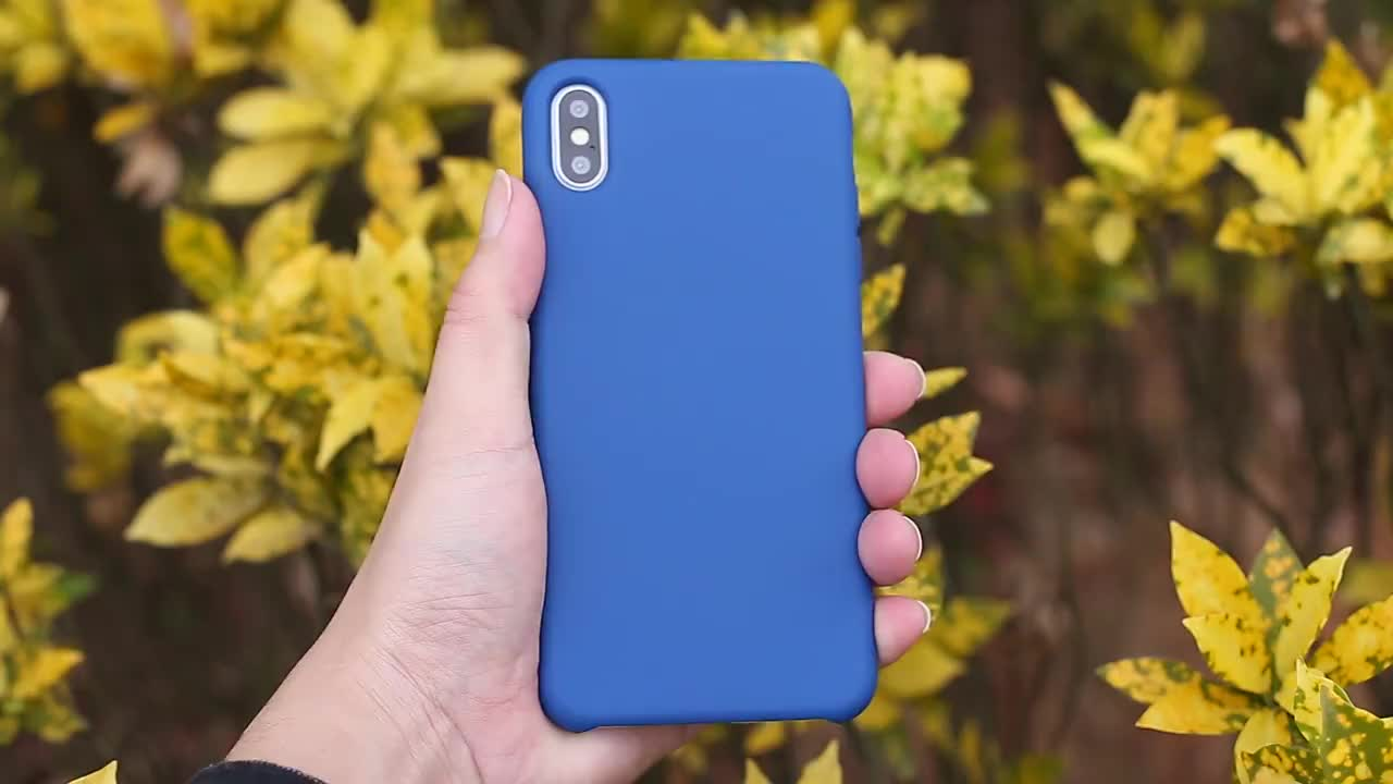 Maxshine OEM Custom Shockproof Cell phone case For Iphone X Xr Xs , Liquid Silicone Rubber Case Cover For Iphone Xs Max