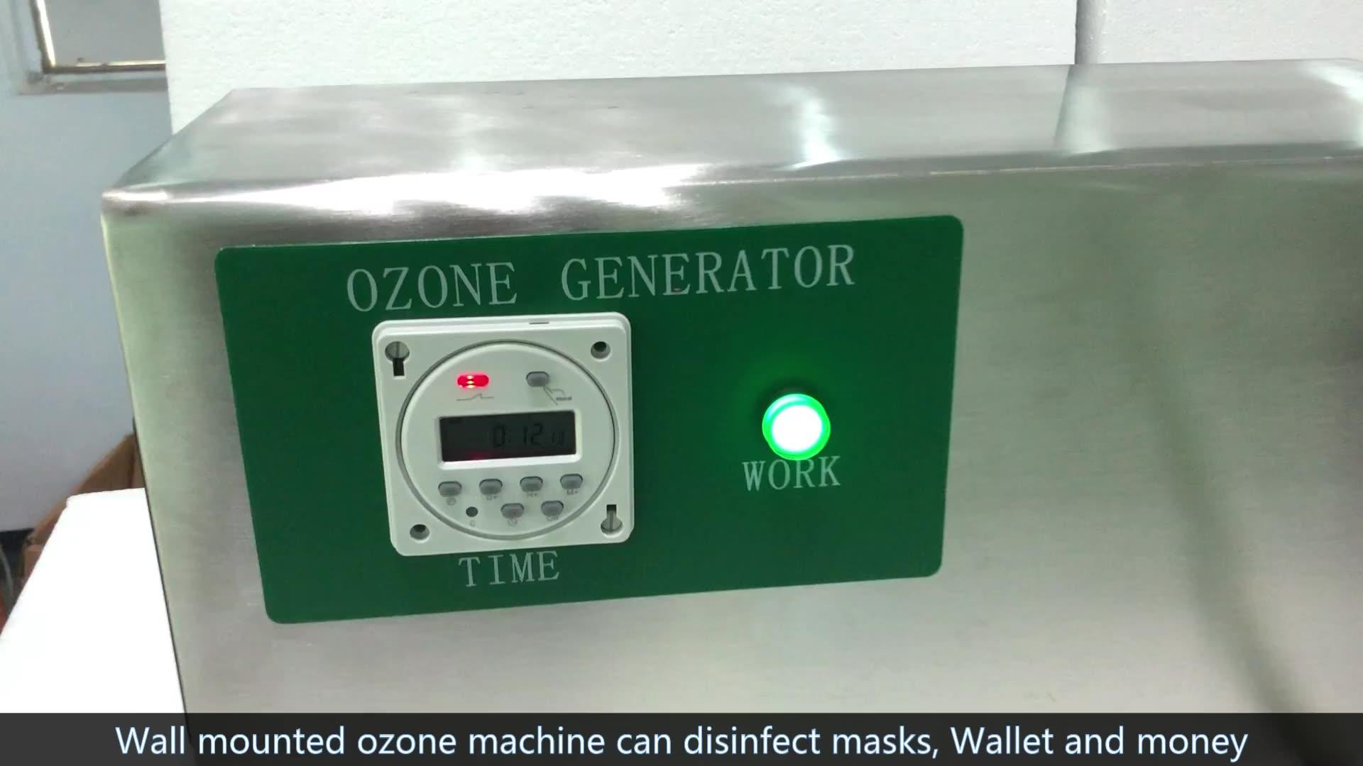 Pemurni Air Ozon 10G, Mesin Generator Ozon untuk Kolam Renang