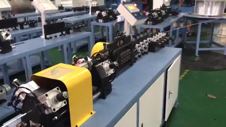 Coil copper/ finned tube/titanium pipe Straightening &chip-less Cutting Machine for heat exchanger and refrigeration