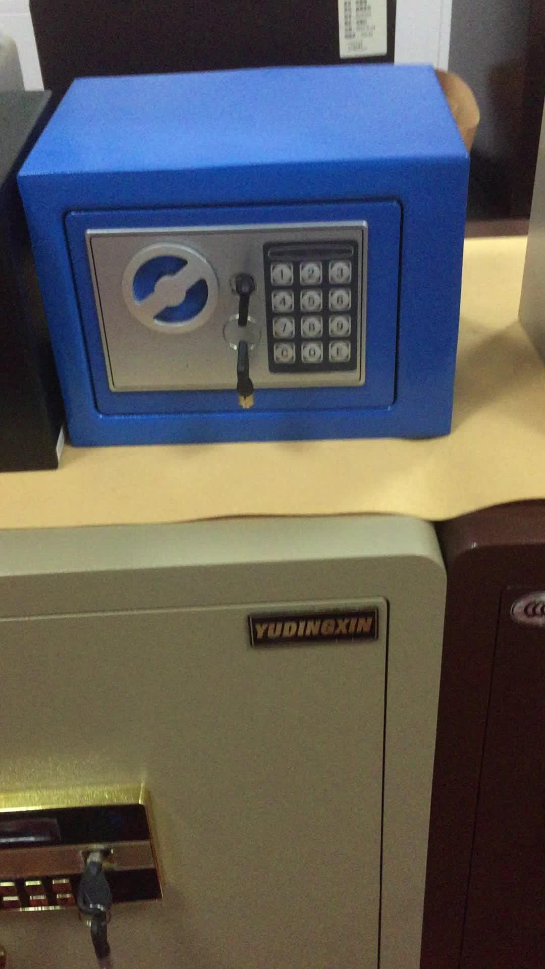 Mini size cash box electronic money safe box for child