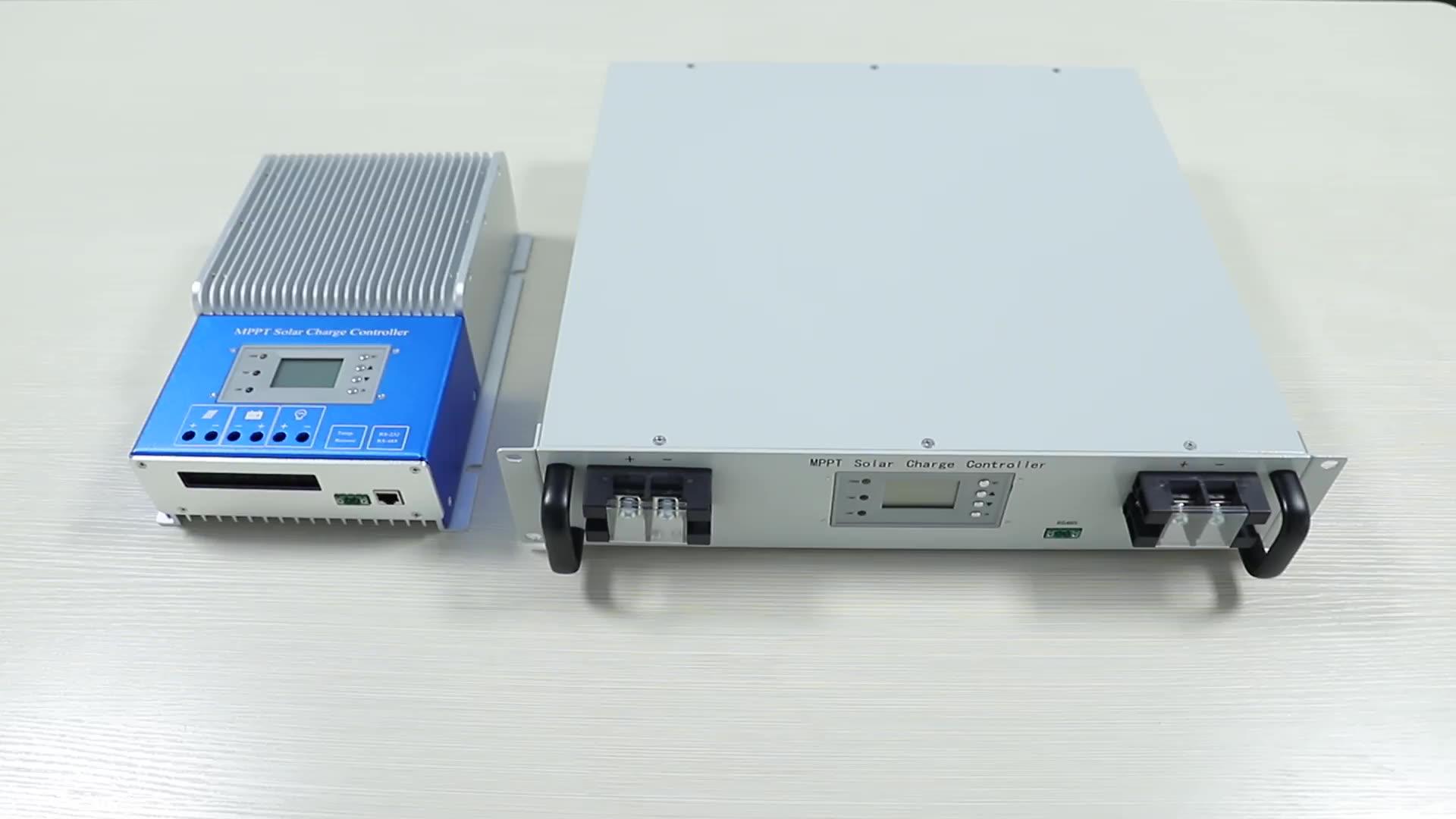 12v 24V 60A mppt 태양 충전 컨트롤러 1600w soalr 패널 충전