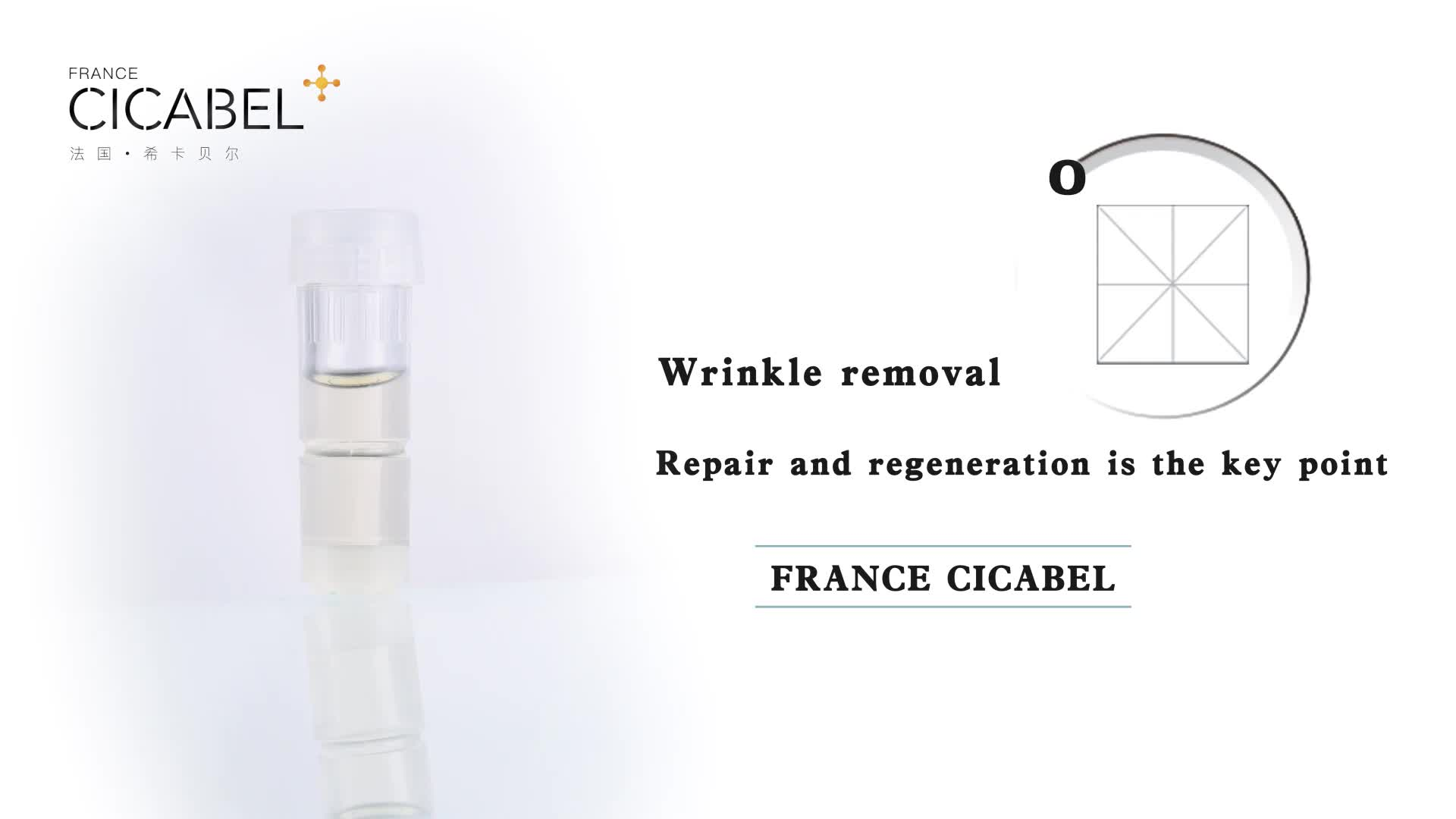 CICABEL mesotherapy gun mesogun vital  injection with  free meso skin serum anti aging wrinkle remover
