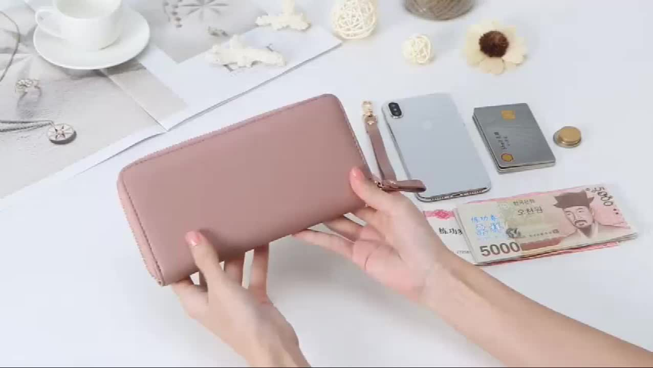 Amazon hot sell lady wallet 2019 popular style China buying agent