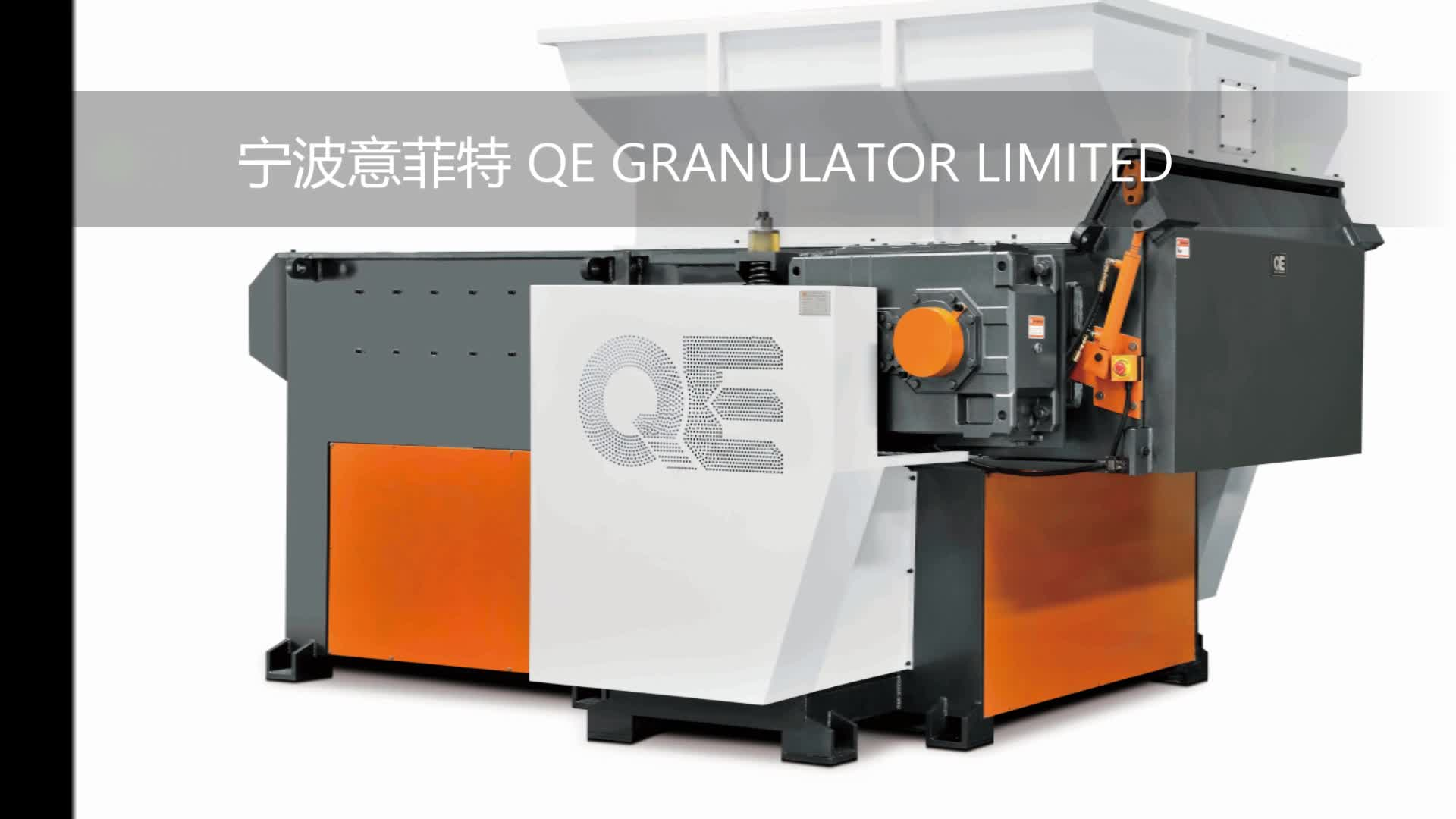 Leistungsstarke Ningbo fabrik gute preis kunststoff fetzen kunststoff brecher/schredder QE QSA48160