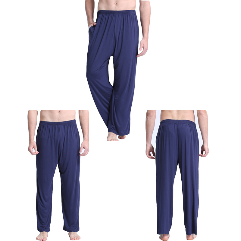 6a4369fd40af2 Small nurse men's pajamas men's summer modal home pants thin section loose  large size yoga pants · Zoom · lightbox moreview · lightbox moreview ·  lightbox ...