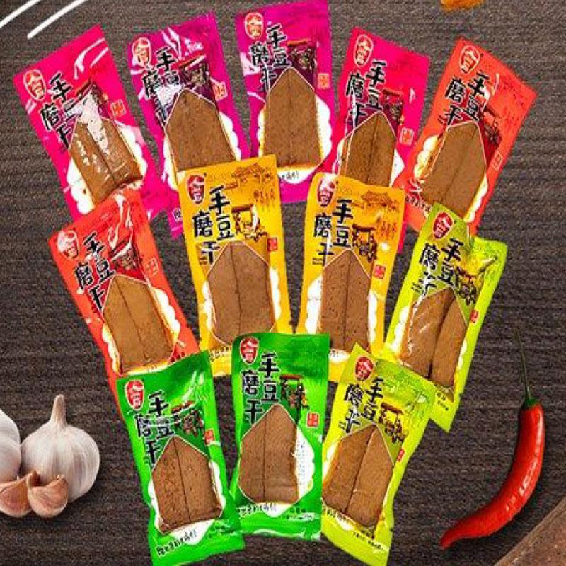 重庆手磨豆干麻辣豆腐干独立小包装豆干休闲