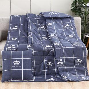 午休抱枕被車載空調被抱枕被子
