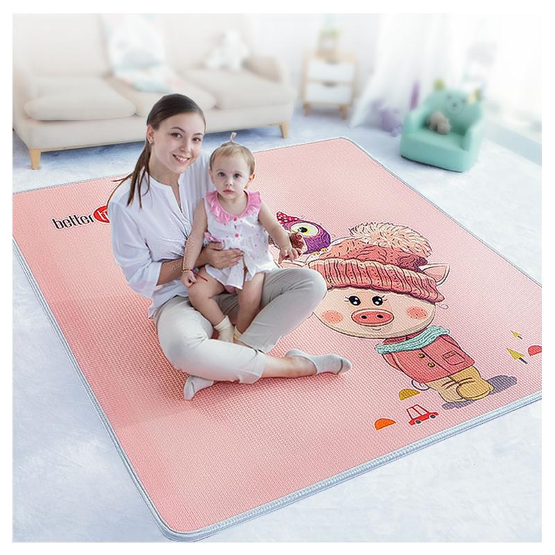 宝宝爬行垫加厚xpe婴儿地垫客厅家用无味环保整张2cm儿童爬爬垫