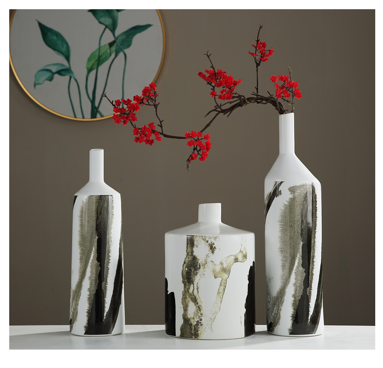 New Chinese style vases, ceramic flower arranging TV ark, place of the sitting room porch between example teahouse decoration home decoration