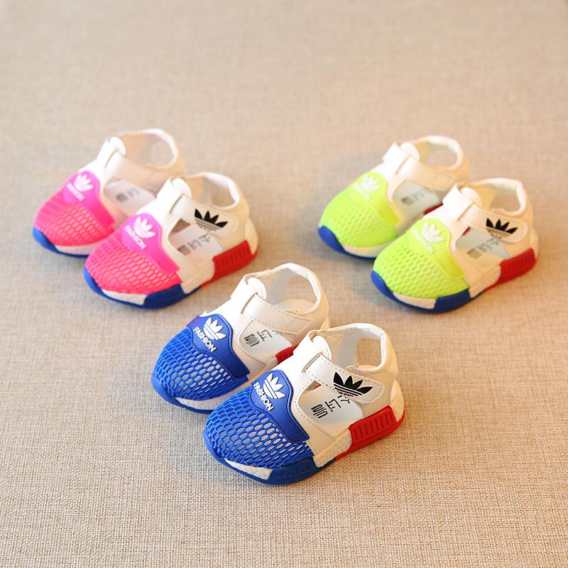0-1-2-3岁宝宝学步鞋2016夏季婴儿塑料软底防滑男童女童沙滩凉鞋