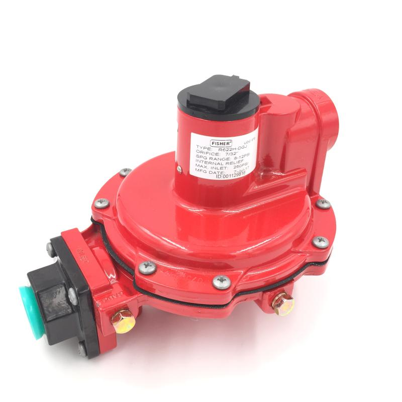 United States Fisher first-class pressure reducing valve R622H-DGJ  regulator natural gas pressure regulating valve DN20