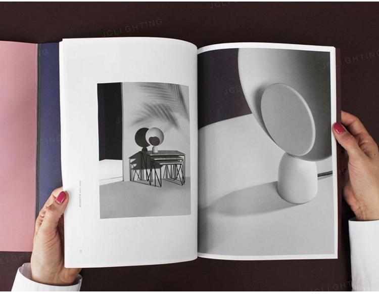 【王哥】北歐丹麥BLOOPER調光簡約個性百葉窗書桌臥室床頭柜裝飾書房臺燈