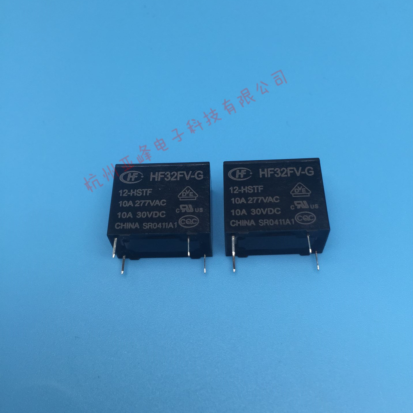Hf32fv G 12 Hstf Macro Relay 12vdc Set Of Normally Open 4 Feet 10a277vac High Load Type