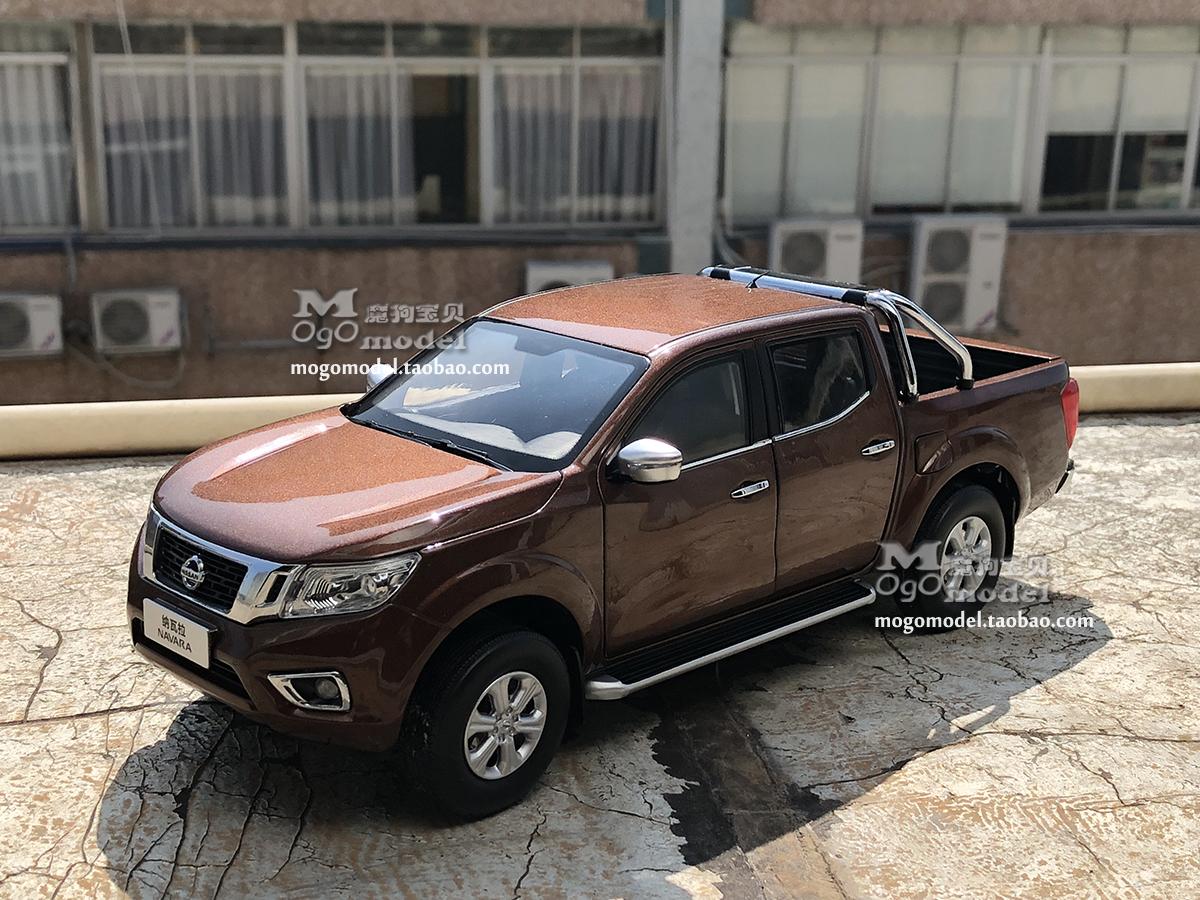 Xe mô hình tĩnh Nissan Navara tỉ lệ 1:18 - ảnh 1