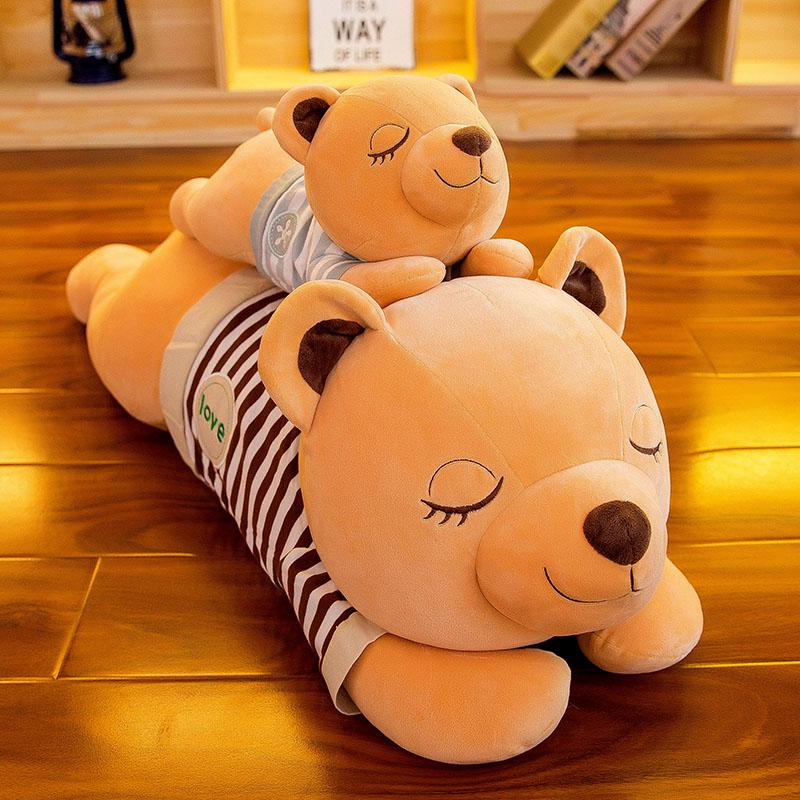 皮皮豆 趴趴熊抱枕公仔