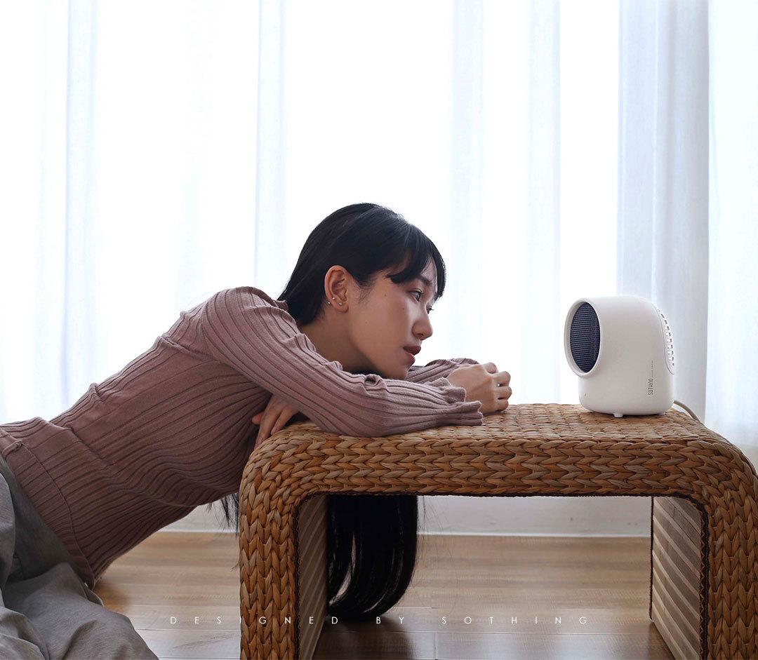 暖風機 呆呆暖風機取暖器辦公室家用迷你桌面小型節能USB電暖器
