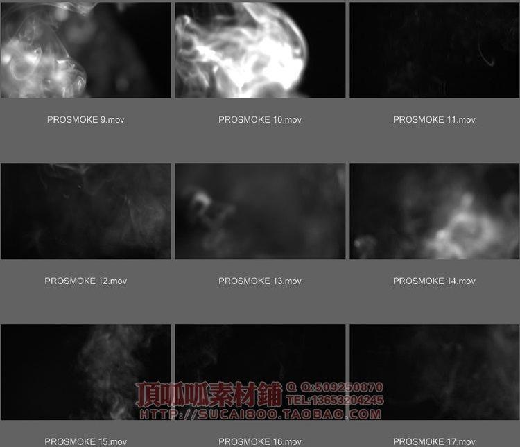 ProSmoke 烟雾特效发生器 FCPX插件+素材