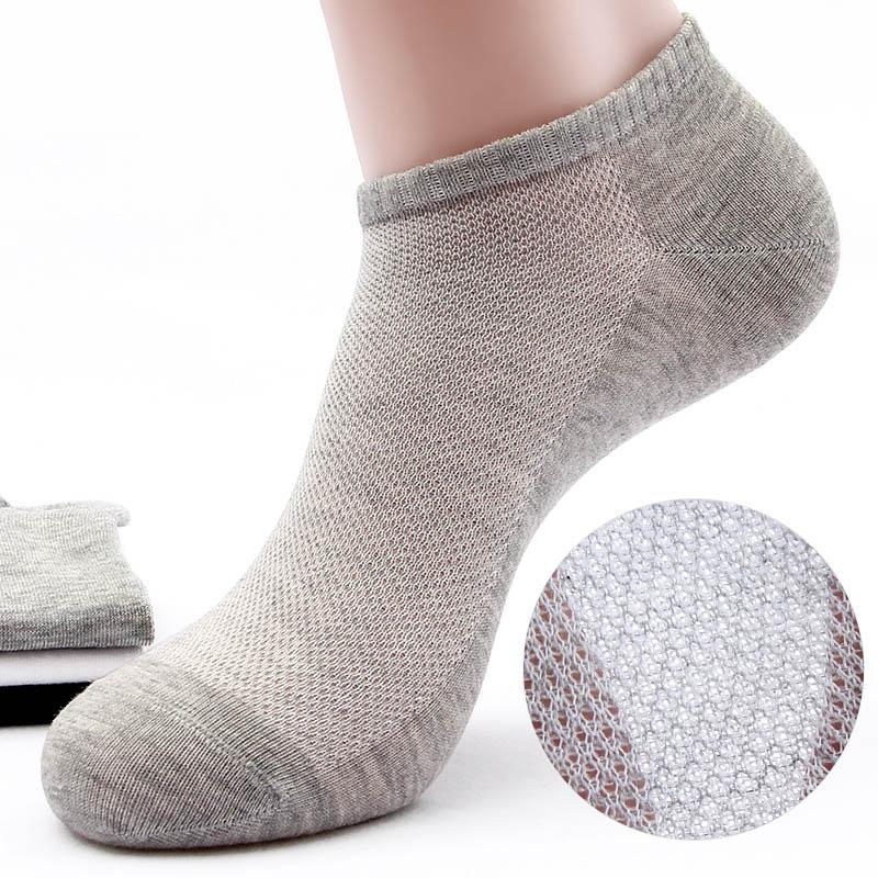 男士船袜夏季薄款纯棉防臭超薄透气低帮短袜浅口夏天袜子男全棉袜