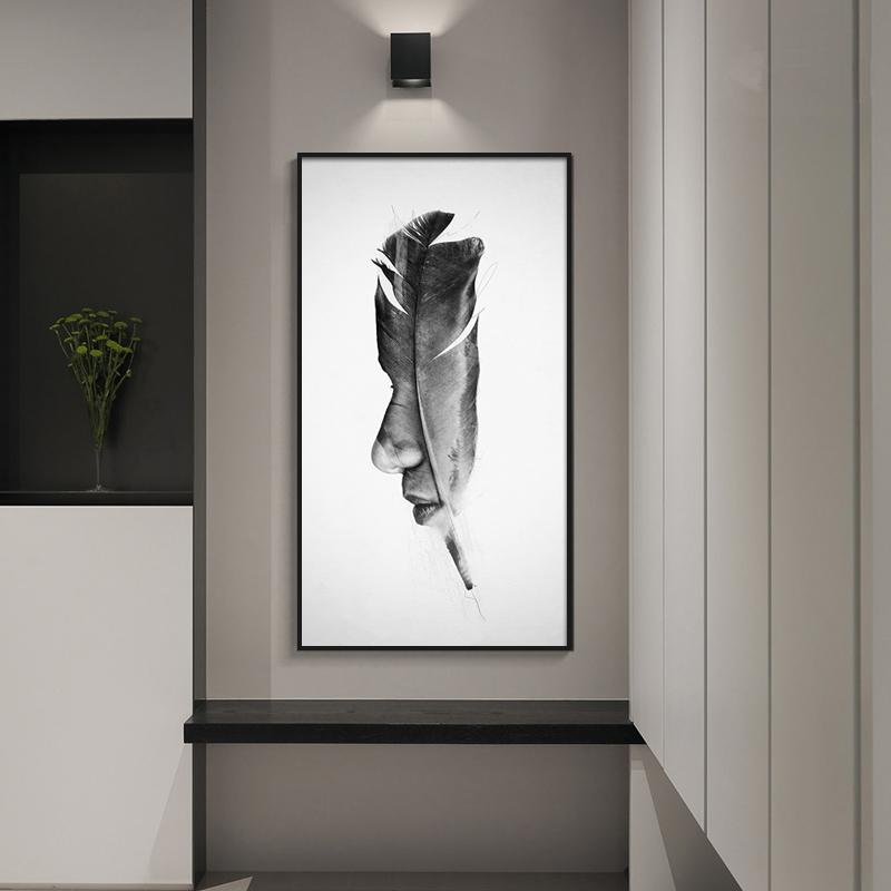 精美壁画,增加客厅艺术气息