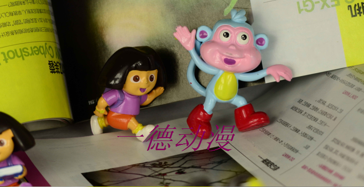 Куклы/ украшения/детали Украшение игрушки Дора кукла Дора приключения в explorer6 детей