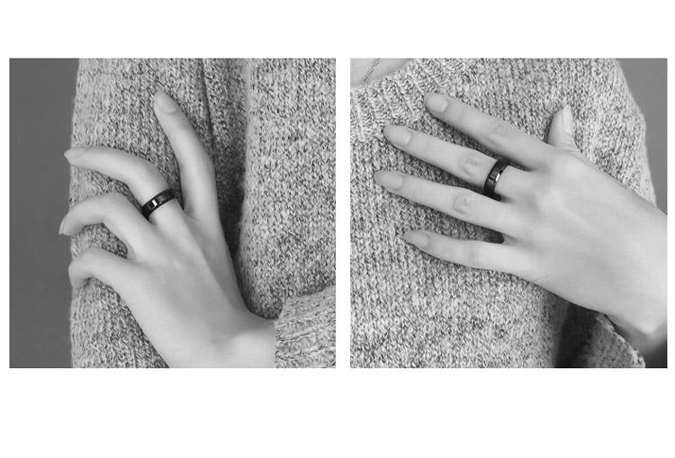 戒指 歐美潮牌極簡簡約戒指男單身尾戒鈦鋼不褪色個性指環2019年新款潮 時尚搬運工