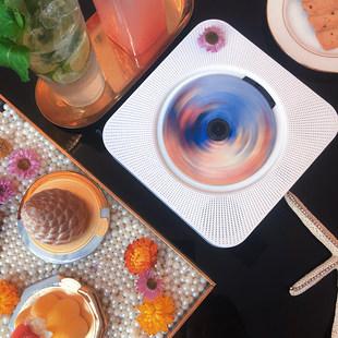 HAODUOPAN настенный CD-проигрыватель ретро CD трансляция синяя машина зуб звук ins портативный мини Альбом игрок