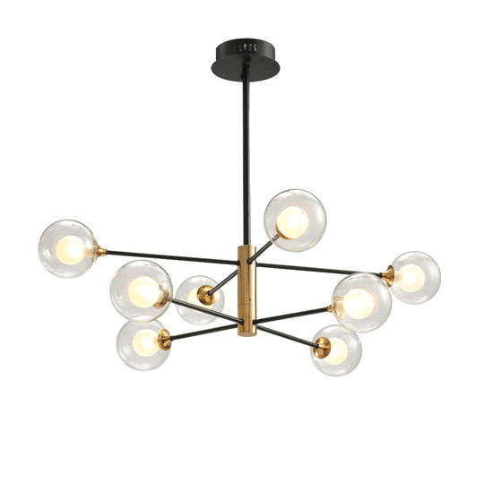 Northern European Magic Bean Chandelier Molecular Light Glass Bubble Ball Brand Types Simple Line Living Room Restaurant Chandelier