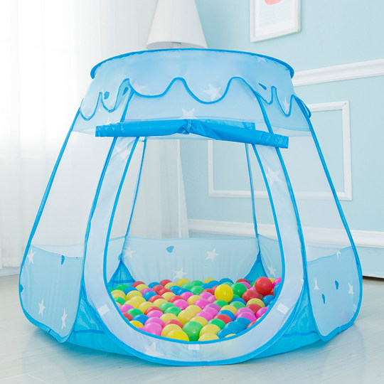 Children tent game house indoor toy girl boy small castle baby home princess house ocean ball pool