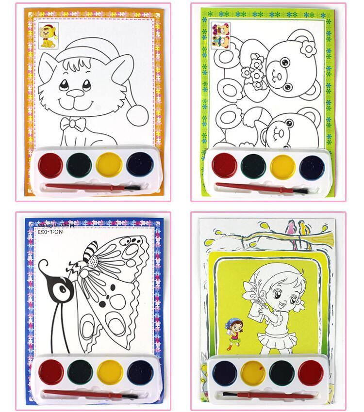 热卖创意水彩画小孩男女儿童玩具批发幼儿园礼品夜市地摊货源批发详细照片