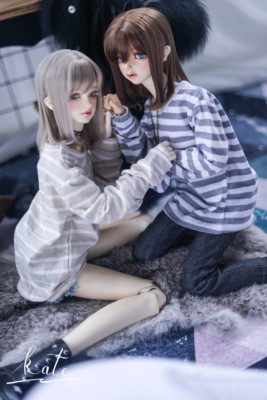 taobao agent 【endless】-Stripe- -bjd/sd doll baby clothes striped top striped bottoming shirt