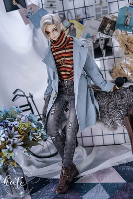 taobao agent Limited【endless】-gentleman-Sa handsome windbreaker sd/bjd uncle 17 male popo68 doll