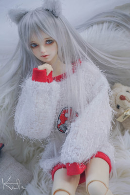 taobao agent 【endless】【soft】Black cat and white cat bjd baby clothes 3 points 4 points uncle general merchandiser