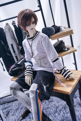 taobao agent Discontinued【pai】endless BJD baby clothes 13 male 4 points msd17 male uncle strong uncle daily