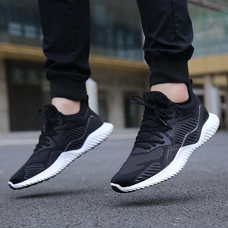 a1742f2207c97 Adidas men s shoes 2018 new winter alpha bounce running shoes small coconut  sports shoes AC8273