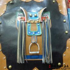 Монгольская картина из кожи Суб-арт седло