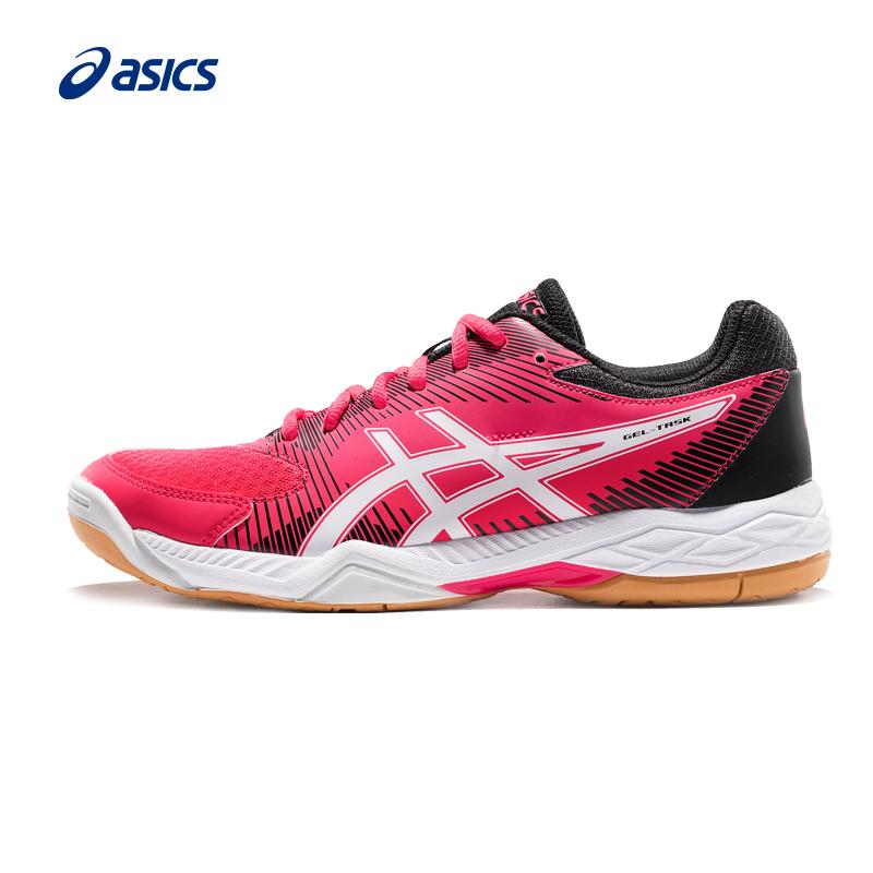 Asics亞瑟士減震專業排球鞋女穩定透氣運動鞋GEL-TASK B754Y-700