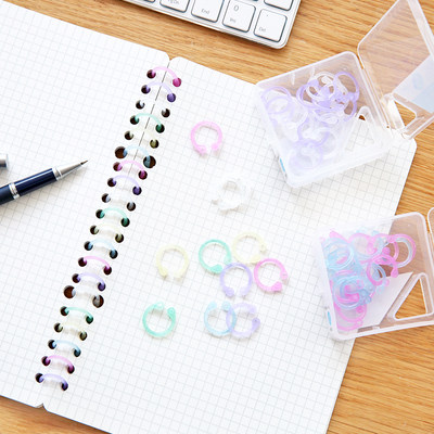 Giant doors stationery binder rings split ring clamp loose leaf paper buckle fixed punch tablet binding ring binder rings