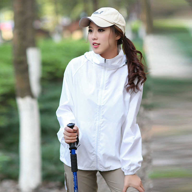 Outdoor skin clothing men and women single-layer thin