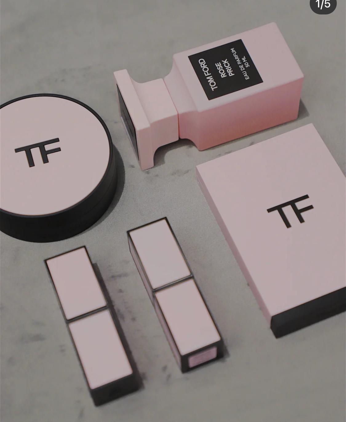 Louis美妝代購現貨Tom ford TF湯姆福特新粉白管粉色限量口紅眼影粉管03/26 04