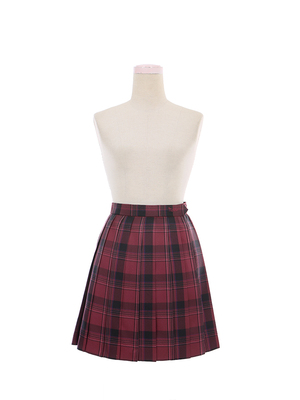 taobao agent 【To Alice】J670 original song suit plaid skirt pleated skirt