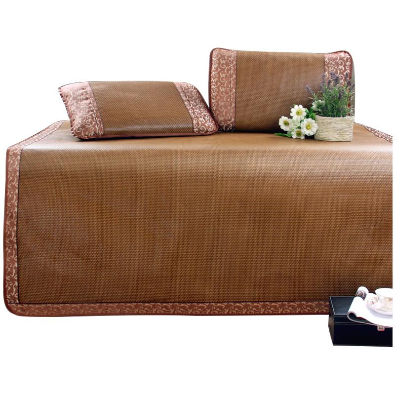 御藤席1.8米床可折叠加厚软竹席双人床凉席学生宿舍夏季空调1.2m【优惠价50元卖出124件】