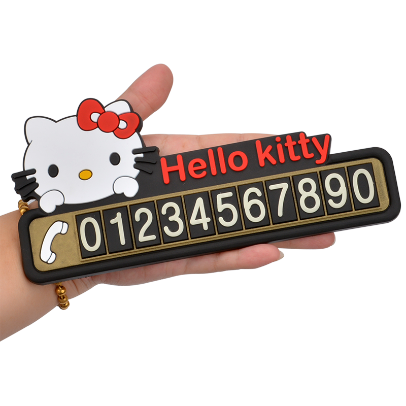 Car Temporary Parking Card With Suction Cups And Night Light Lamp Temporary Stop Card Sign Telephone Number Plate Automotive Interior Stickers Automobiles & Motorcycles