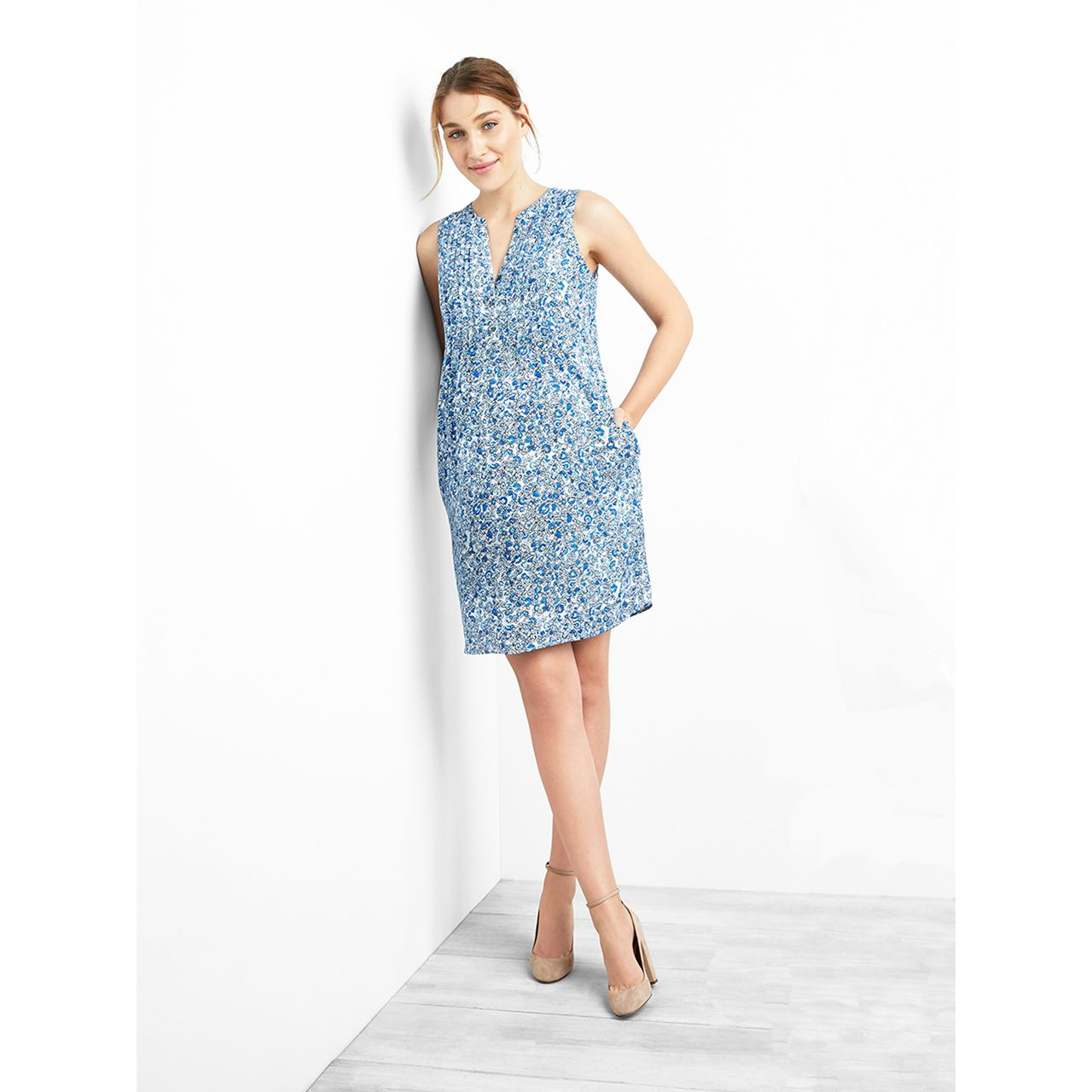 Usd 9429 gap maternity dress floral pattern sleeveless stitching lightbox moreview lightbox moreview lightbox moreview prevnext gap maternity dress ombrellifo Image collections