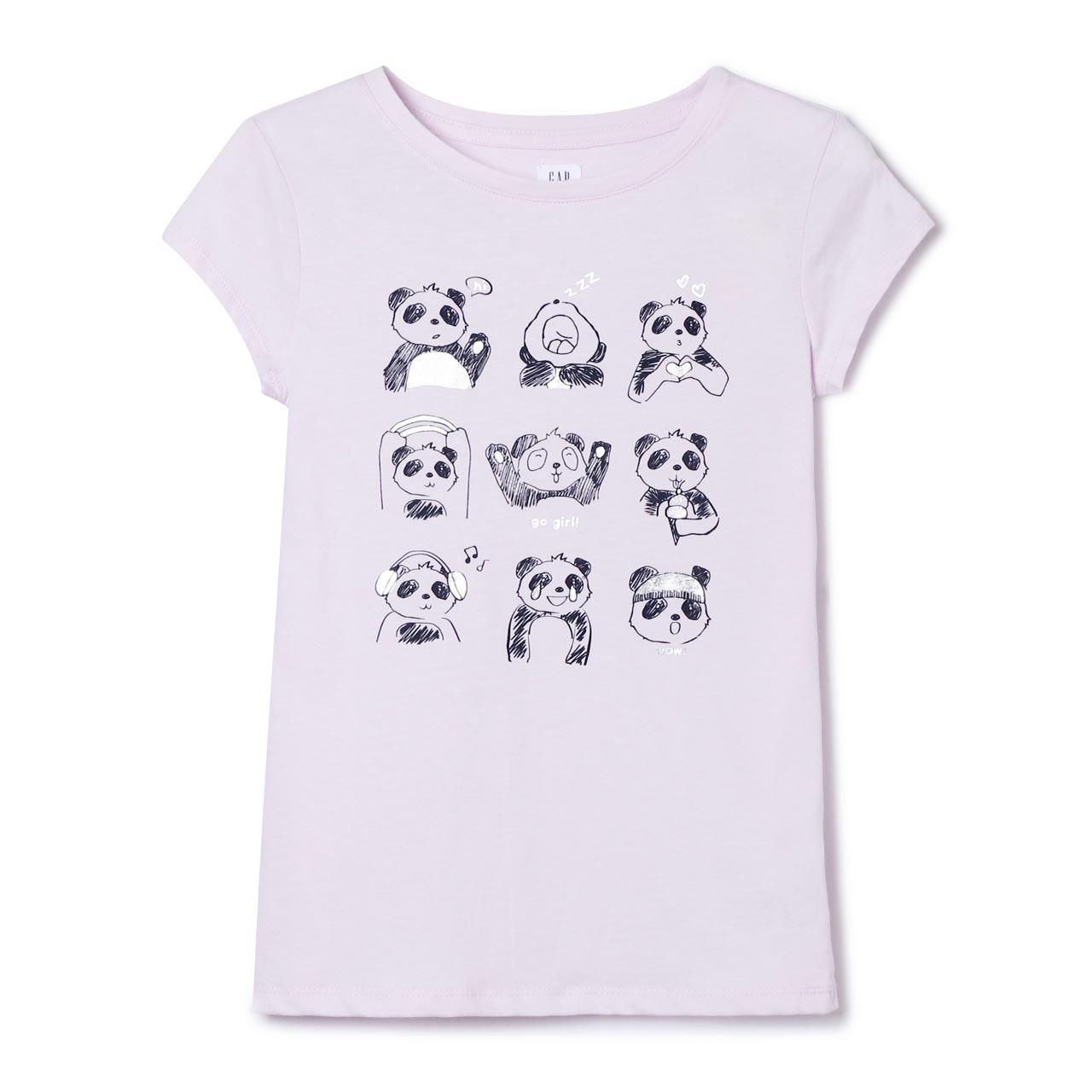 GAP 盖璞 336807 女童短袖T恤