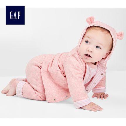 8号0点:Gap 盖璞 592524 布莱纳小熊斗篷式卫衣 79元