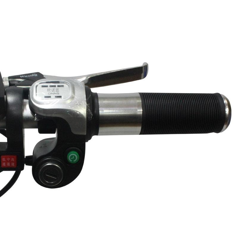 电动自行车带电量显示调速转把油门手把电瓶车加速手柄调速器改