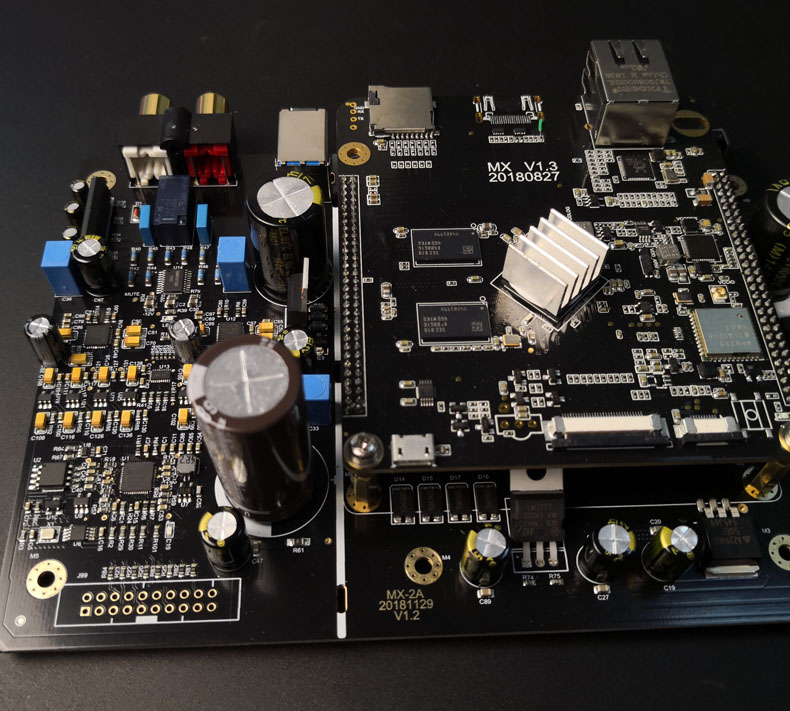 The MX 2A player is actually better listening to 32Bit/768KHz DSD512 than  the ES9038 and AK4497