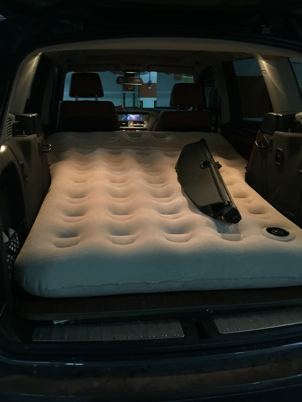 Usd 174 82 Bmw X3 Car Inflatable Bed Suv Car Bed Car Rear Double